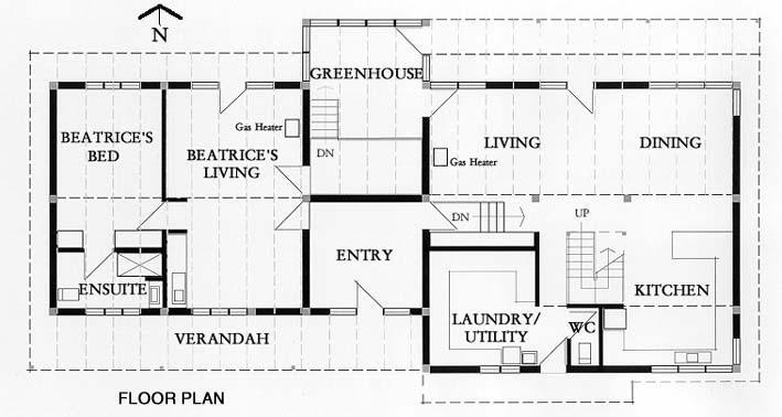 floor plan house. Ground Floor Plan